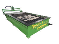 CNC Plasma Cutter Model - EZ Plasma Green Machine