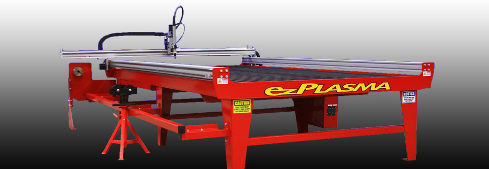 APC Plasma Cutter with CNC Rotary Pipe Cutting Option by ezPlasma.