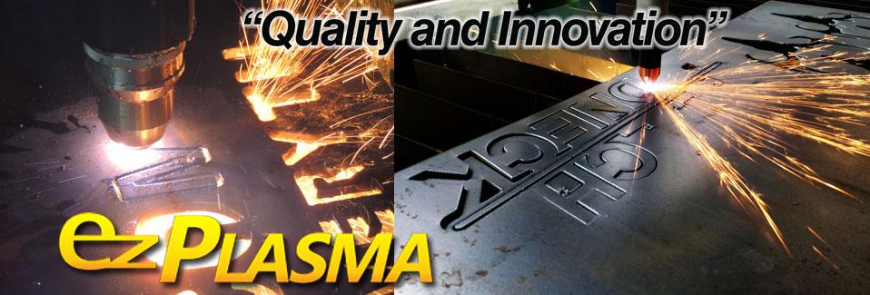CNC Plasma Cutters by EZ Plasma - CNC Plasma Tables for any job.