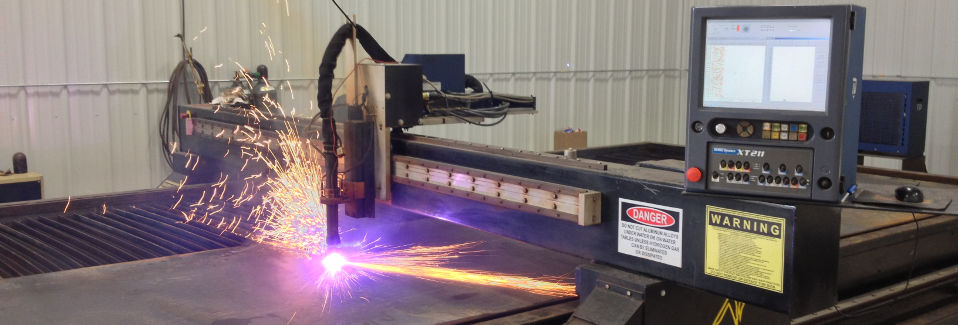 CNC Plasma and Oxy-Fuel cutting tables for any job!