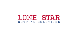lone star logo colored white 275